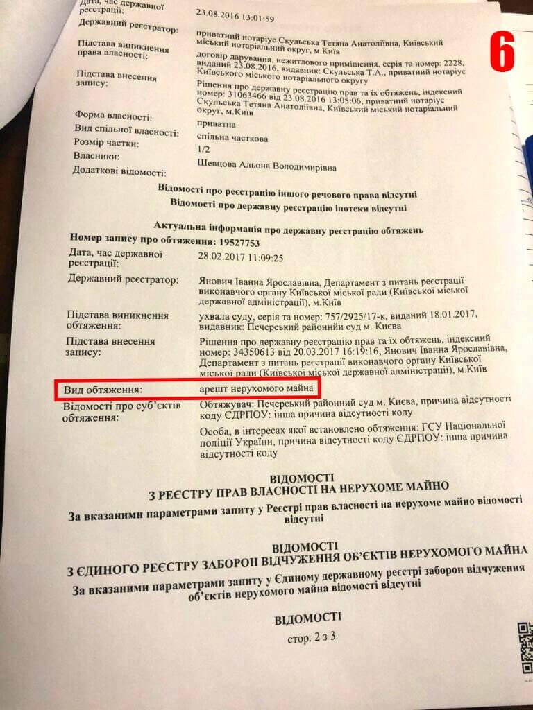 Дегрик и Шевцов: арестованное имущество и щедрые подарки от чёрных регистраторов
