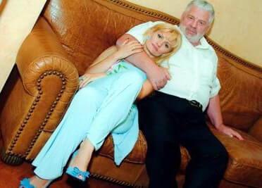 Владимир Стерницкий с дочерью Анжелой